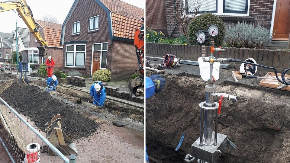 DLP-Dienstverlening | Vleuten | aanleg & onderhoud waterleiding